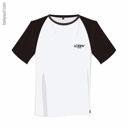 Camiseta bicolor LoskySurf