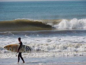 Surf en Huelva Olas